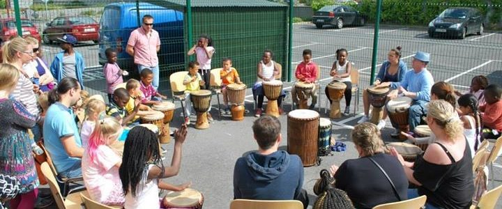 Drumming Workshops are available Galway city, county and nationwide