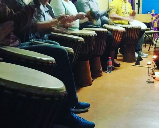 Drumming workshops for participants with Intellectual Disabilities